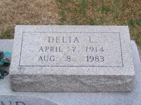 GILLILAND, DELIA L. - Brown County, Nebraska   DELIA L. GILLILAND - Nebraska Gravestone Photos