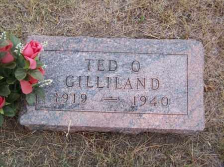 GILLILAND, TED Q. - Brown County, Nebraska | TED Q. GILLILAND - Nebraska Gravestone Photos