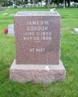 GORDON, JAMES H. - Brown County, Nebraska | JAMES H. GORDON - Nebraska Gravestone Photos