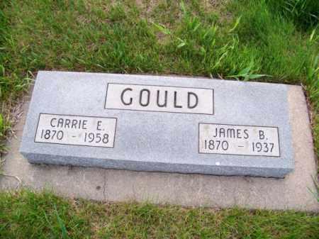 GOULD, CARRIE E. - Brown County, Nebraska | CARRIE E. GOULD - Nebraska Gravestone Photos