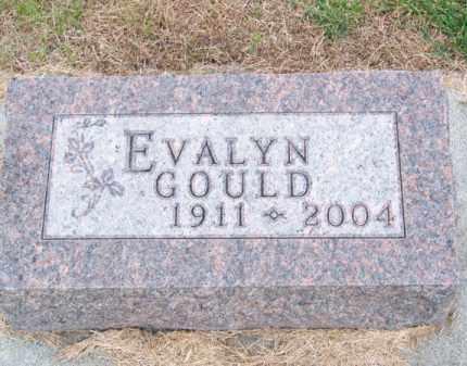 GOULD, EVALYN - Brown County, Nebraska   EVALYN GOULD - Nebraska Gravestone Photos