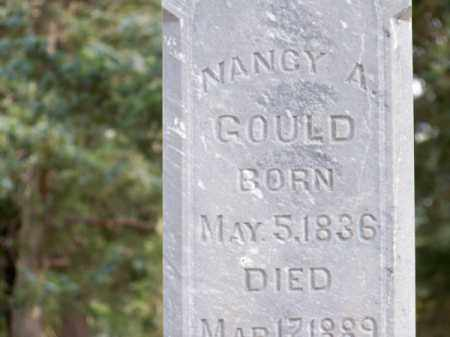 GOULD, NANCY A. - Brown County, Nebraska | NANCY A. GOULD - Nebraska Gravestone Photos