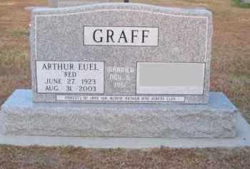 "GRAFF, ARTHUR EUEL ""RED"" - Brown County, Nebraska | ARTHUR EUEL ""RED"" GRAFF - Nebraska Gravestone Photos"