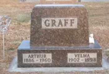 GRAFF, VELMA - Brown County, Nebraska   VELMA GRAFF - Nebraska Gravestone Photos
