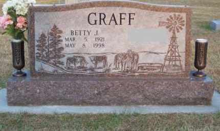 GRAFF, BETTY J. - Brown County, Nebraska | BETTY J. GRAFF - Nebraska Gravestone Photos