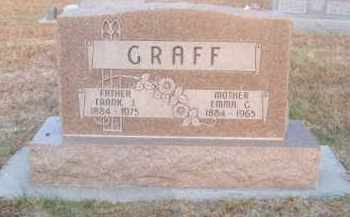 GRAFF, EMMA G. - Brown County, Nebraska | EMMA G. GRAFF - Nebraska Gravestone Photos