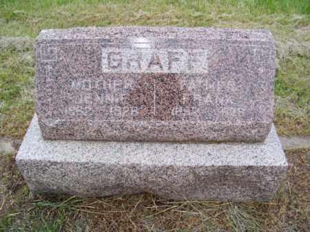GRAFF, JENNIE - Brown County, Nebraska | JENNIE GRAFF - Nebraska Gravestone Photos