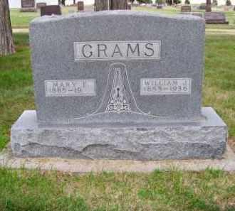 GRAMS, WILLIAM J. - Brown County, Nebraska | WILLIAM J. GRAMS - Nebraska Gravestone Photos