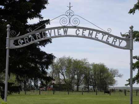 *GRANDVIEW CEMETERY, ENTRANCE - Brown County, Nebraska | ENTRANCE *GRANDVIEW CEMETERY - Nebraska Gravestone Photos