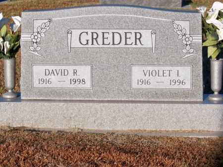 GREDER, DAVID R. - Brown County, Nebraska | DAVID R. GREDER - Nebraska Gravestone Photos