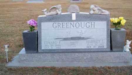 GREENOUGH, HARRIET L. - Brown County, Nebraska | HARRIET L. GREENOUGH - Nebraska Gravestone Photos
