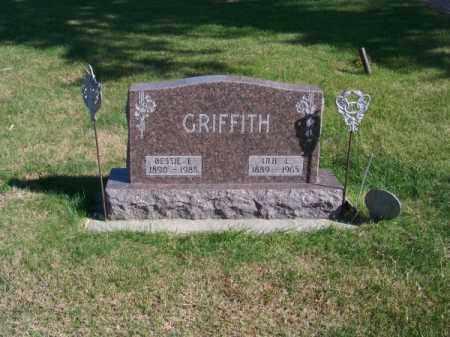 GRIFFITH, BESSIE E. - Brown County, Nebraska   BESSIE E. GRIFFITH - Nebraska Gravestone Photos