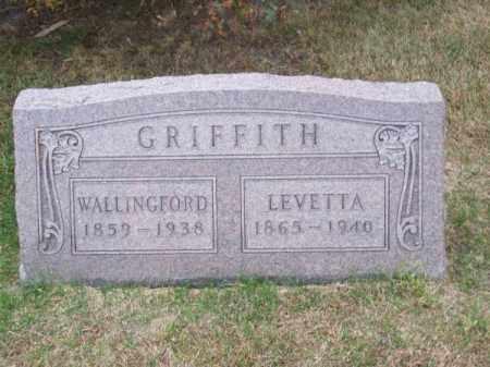 GRIFFITH, WALLINGFORD - Brown County, Nebraska | WALLINGFORD GRIFFITH - Nebraska Gravestone Photos