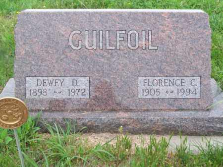 GUILFOIL, FLORENCE C. - Brown County, Nebraska | FLORENCE C. GUILFOIL - Nebraska Gravestone Photos