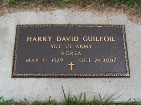 GUILFOIL, HARRY DAVID - Brown County, Nebraska | HARRY DAVID GUILFOIL - Nebraska Gravestone Photos