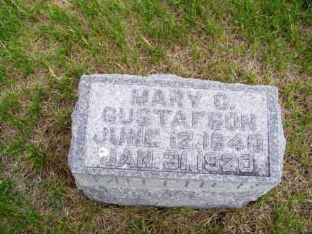 GUSTAFSON, MARY C. - Brown County, Nebraska | MARY C. GUSTAFSON - Nebraska Gravestone Photos