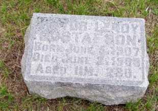 GUSTAFSON, VICTOR LEROY - Brown County, Nebraska   VICTOR LEROY GUSTAFSON - Nebraska Gravestone Photos