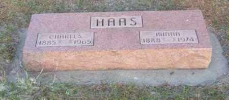 HAAS, MINNA - Brown County, Nebraska | MINNA HAAS - Nebraska Gravestone Photos