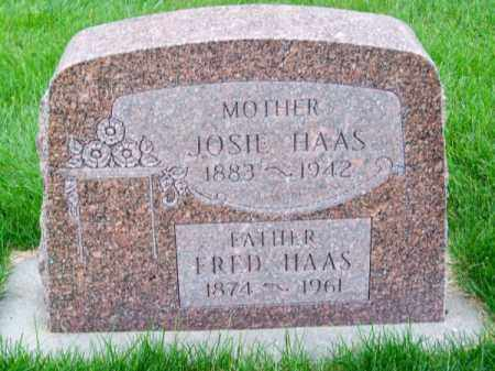 HAAS, FRED - Brown County, Nebraska | FRED HAAS - Nebraska Gravestone Photos