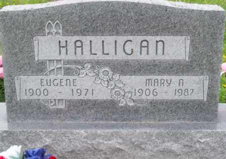 HALLIGAN, EUGENE - Brown County, Nebraska | EUGENE HALLIGAN - Nebraska Gravestone Photos