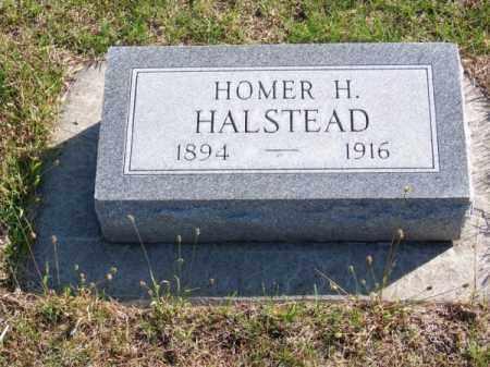 HALSTEAD, HOMER H. - Brown County, Nebraska   HOMER H. HALSTEAD - Nebraska Gravestone Photos