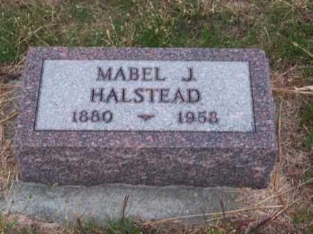 HALSTEAD, MABEL J. - Brown County, Nebraska | MABEL J. HALSTEAD - Nebraska Gravestone Photos