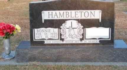 HAMBLETON, BONNIE L. - Brown County, Nebraska | BONNIE L. HAMBLETON - Nebraska Gravestone Photos