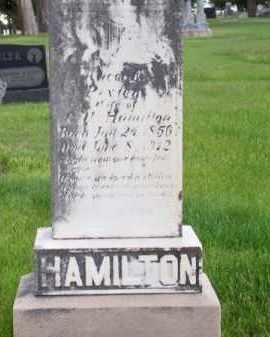 PIXLEY HAMILTON, ALICE E. - Brown County, Nebraska | ALICE E. PIXLEY HAMILTON - Nebraska Gravestone Photos