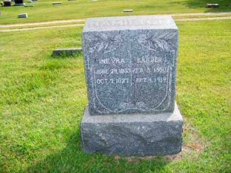HAMILTON, GINERVA - Brown County, Nebraska | GINERVA HAMILTON - Nebraska Gravestone Photos