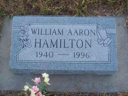 HAMILTON, WILLIAM AARON - Brown County, Nebraska | WILLIAM AARON HAMILTON - Nebraska Gravestone Photos