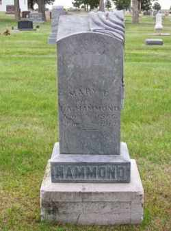HAMMOND, MARY C. - Brown County, Nebraska | MARY C. HAMMOND - Nebraska Gravestone Photos