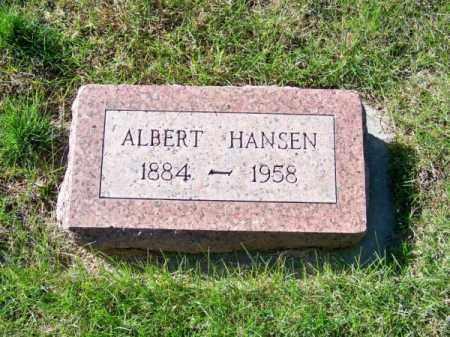 HANSEN, ALBERT - Brown County, Nebraska | ALBERT HANSEN - Nebraska Gravestone Photos