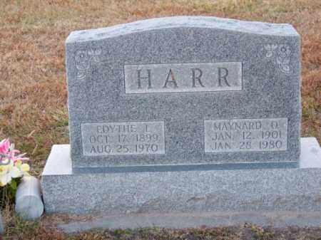 HARR, EDYTHE I. - Brown County, Nebraska | EDYTHE I. HARR - Nebraska Gravestone Photos