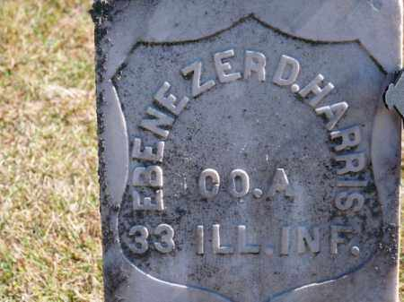 HARRIS, EBENEZER D. - Brown County, Nebraska | EBENEZER D. HARRIS - Nebraska Gravestone Photos
