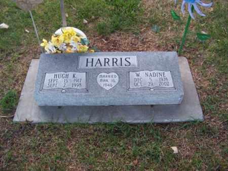 HARRIS, W. NADINE - Brown County, Nebraska | W. NADINE HARRIS - Nebraska Gravestone Photos
