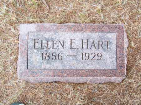 HART, ELLEN E. - Brown County, Nebraska | ELLEN E. HART - Nebraska Gravestone Photos