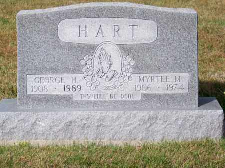 HART, GEORGE H. - Brown County, Nebraska | GEORGE H. HART - Nebraska Gravestone Photos