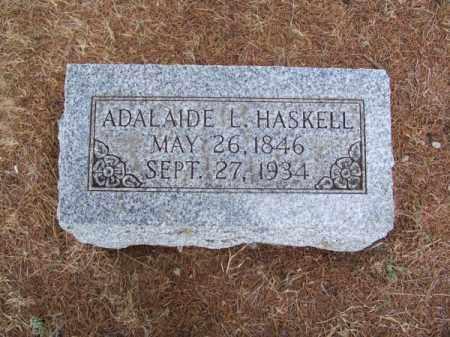 HASKELL, ADALAIDE L. - Brown County, Nebraska | ADALAIDE L. HASKELL - Nebraska Gravestone Photos