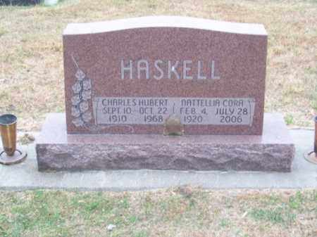 HASKELL, NATTELLIA CORA - Brown County, Nebraska | NATTELLIA CORA HASKELL - Nebraska Gravestone Photos