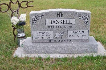 HASKELL, DAVID H. - Brown County, Nebraska | DAVID H. HASKELL - Nebraska Gravestone Photos