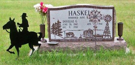 HASKELL, DOUGLAS G. - Brown County, Nebraska   DOUGLAS G. HASKELL - Nebraska Gravestone Photos