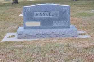 "HASKELL, JOHN D. ""JACK"" - Brown County, Nebraska | JOHN D. ""JACK"" HASKELL - Nebraska Gravestone Photos"