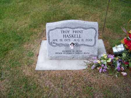 HASKELL, TROY PRINT - Brown County, Nebraska | TROY PRINT HASKELL - Nebraska Gravestone Photos
