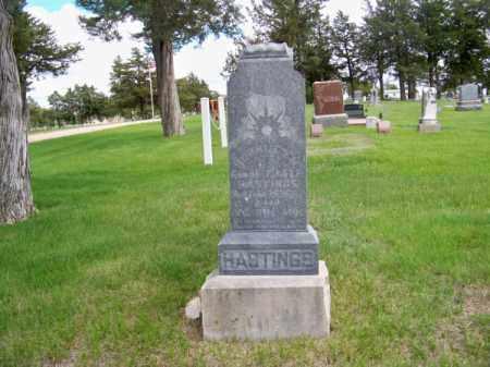 HASTINGS, BERKLEY M. - Brown County, Nebraska | BERKLEY M. HASTINGS - Nebraska Gravestone Photos