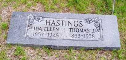 HASTINGS, IDA ELLEN - Brown County, Nebraska   IDA ELLEN HASTINGS - Nebraska Gravestone Photos