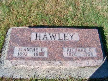 HAWLEY, RICHARD C. - Brown County, Nebraska   RICHARD C. HAWLEY - Nebraska Gravestone Photos