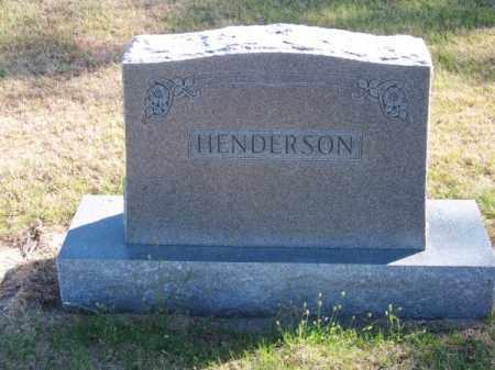 HENDERSON, FAMILY - Brown County, Nebraska | FAMILY HENDERSON - Nebraska Gravestone Photos