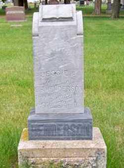 HENDERSON, JESSIE E. - Brown County, Nebraska | JESSIE E. HENDERSON - Nebraska Gravestone Photos