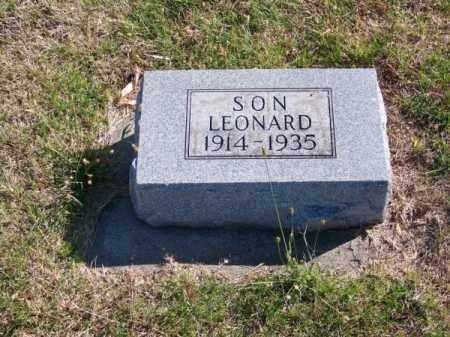 HENDERSON, LEONARD - Brown County, Nebraska | LEONARD HENDERSON - Nebraska Gravestone Photos