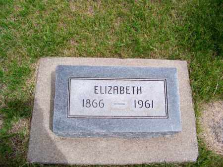 HILDEBRAND, ELIZABETH - Brown County, Nebraska | ELIZABETH HILDEBRAND - Nebraska Gravestone Photos